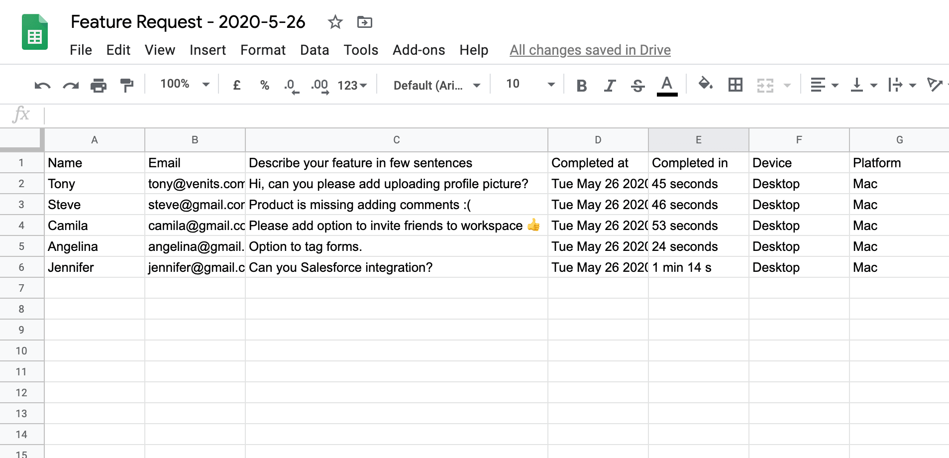 Automatically create rows in Google Sheets
